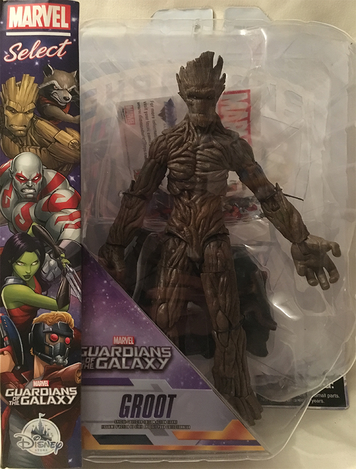 Les gardiens de la Galaxie : la figurine Groot par Diamond Select toys