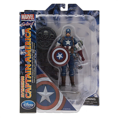 Disney Store's Exclusive Marvel Select Avenging Captain America