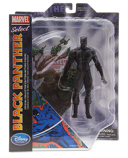 Marvel Select black panther : The king and protector of Wakanda is back