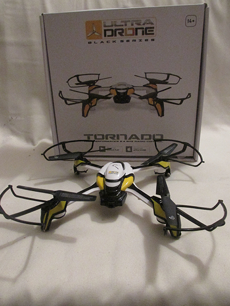Ultra drone Black series Tornado