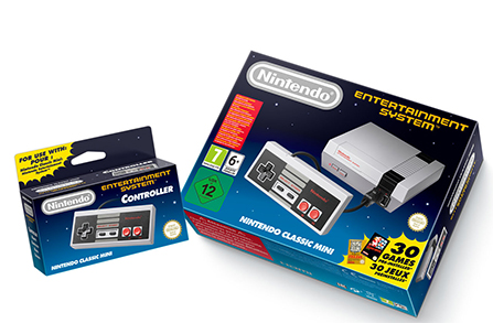 La console Nintendo Classic Mini : Nostalgie gaming assuree
