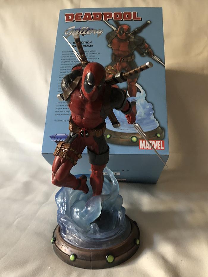 Marvel Gallery Deadpool PVC Diorama