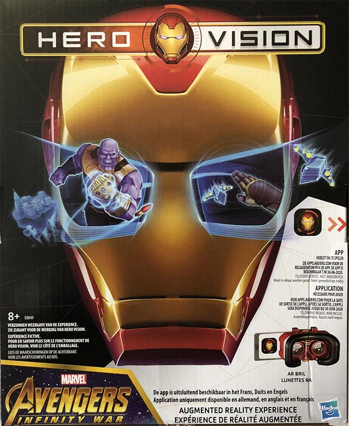 Hero Vision Iron Man réalité augmentée